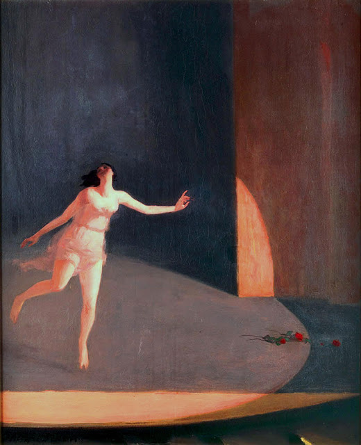 1911 Isadora Duncan oil on canvas 81.9 x 66.7 cm